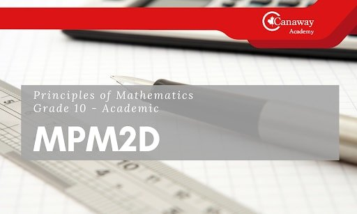 Sample video of a Canadian High School course - MPM2D